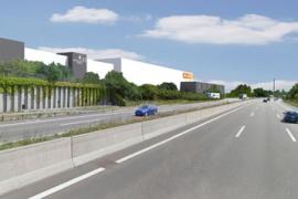 Neues Logistikcenter in Pratteln