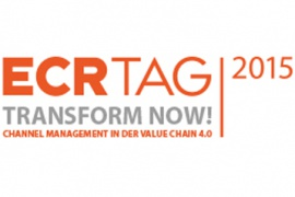 ECR Tag 2015 – Transform Now! Channel Management in der Value Chain 4.0