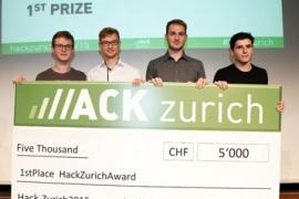 Gewinner der HackZurich 2015 stehen fest