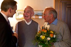 Hans und Rolf Bertschi in die Logistics Hall of Fame aufgenommen