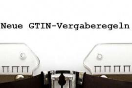 Neu GTIN-Vergaberegeln