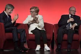 Helene und Peter Galliker sen. in die Logistics Hall of Fame Switzerland aufgenommen
