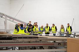 Einblick in die Logistik begeistert 300 Besucher
