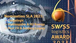 Nominiert für den Swiss Logistics Award 2021
