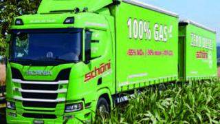 Schöni Transport: Grün dank Biodiesel und Solarstrom